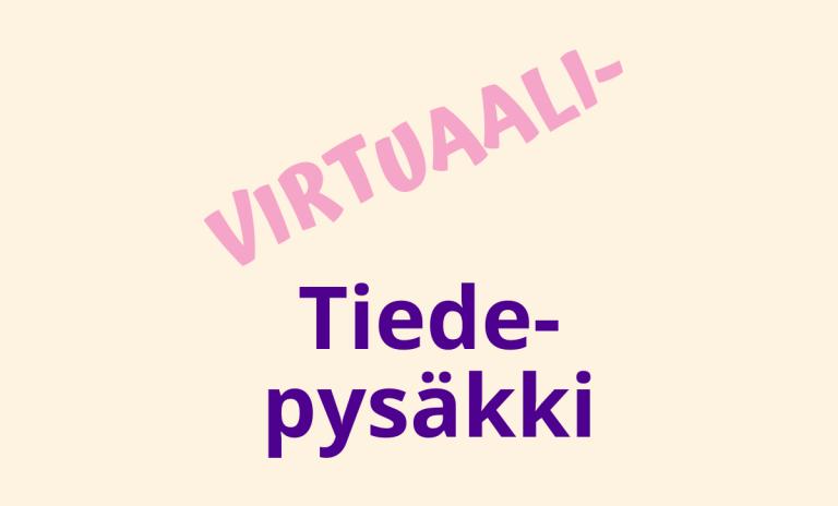Juniversity virtuaali-tiedepysäkin logobanneri.