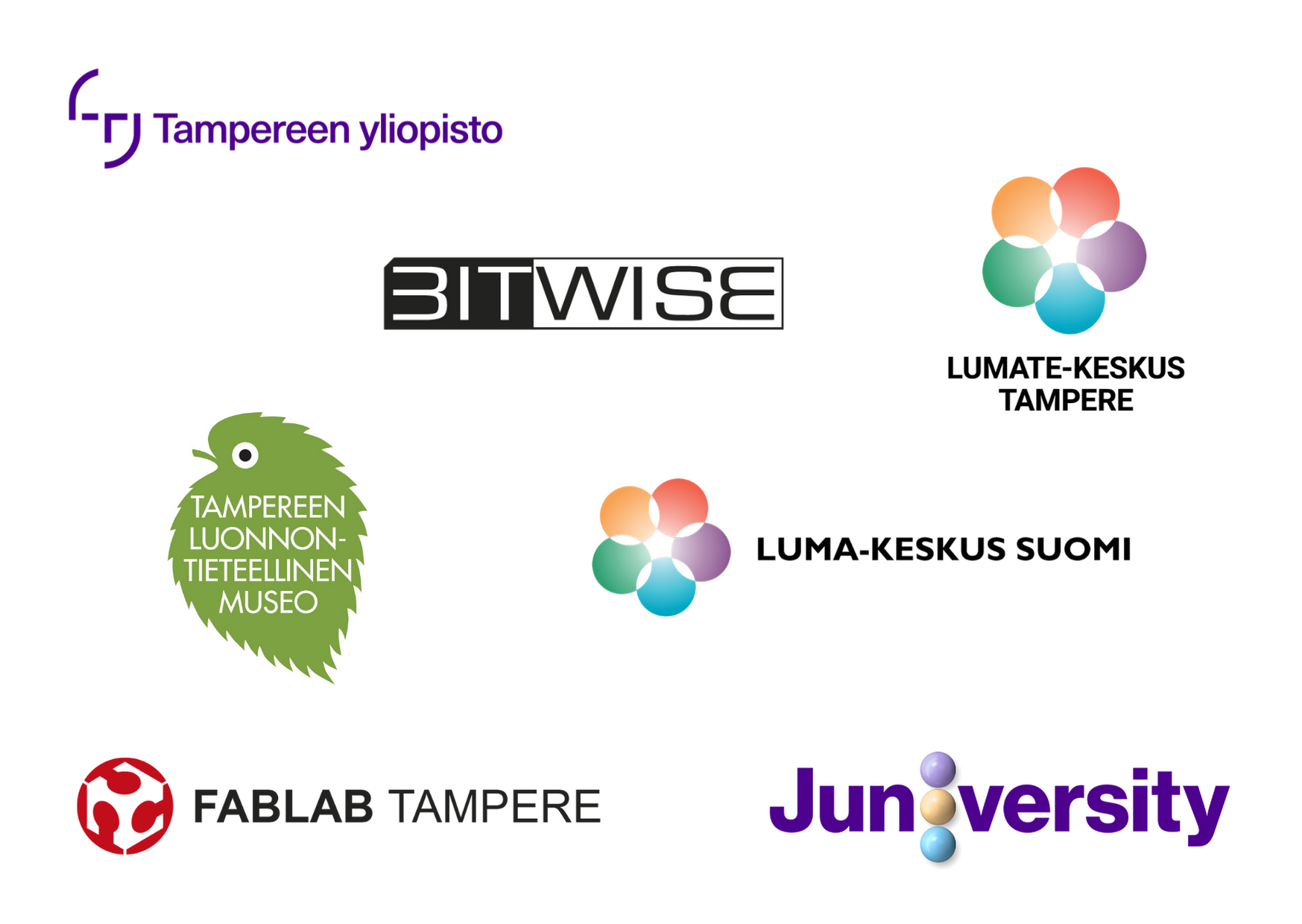 luma-suomi pirkanmaan start-festarit kevät 2020 yhteistyökumppanit