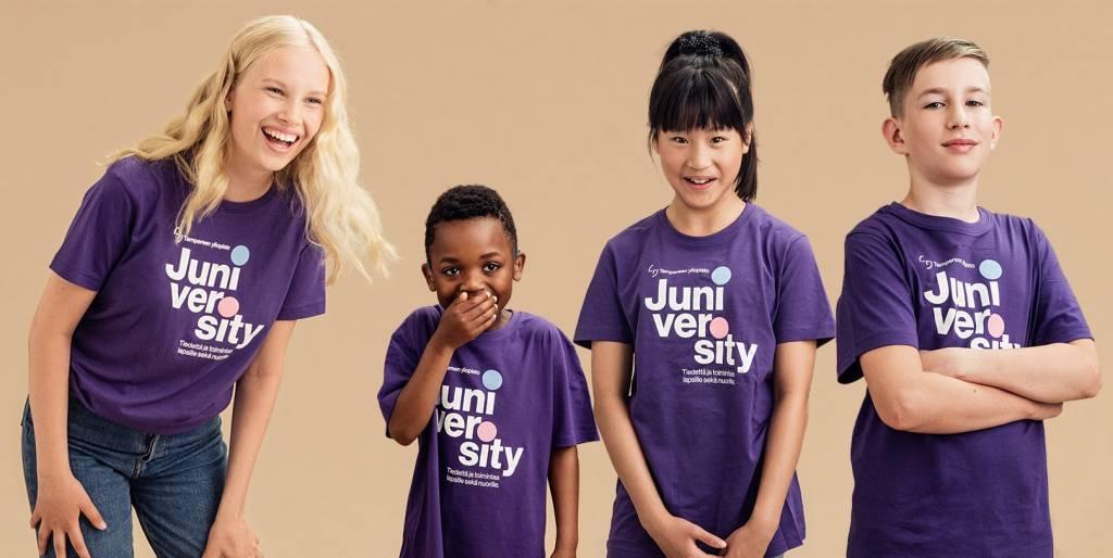 Tampereen yliopiston Juniversity - tiedettä ja toimintaa lapsille sekä nuorille