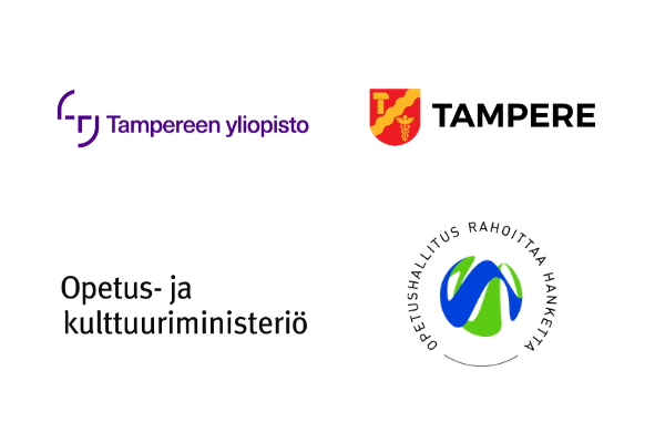Tampereen yliopiston juniversity toimintaa rahoittavat tahot logot