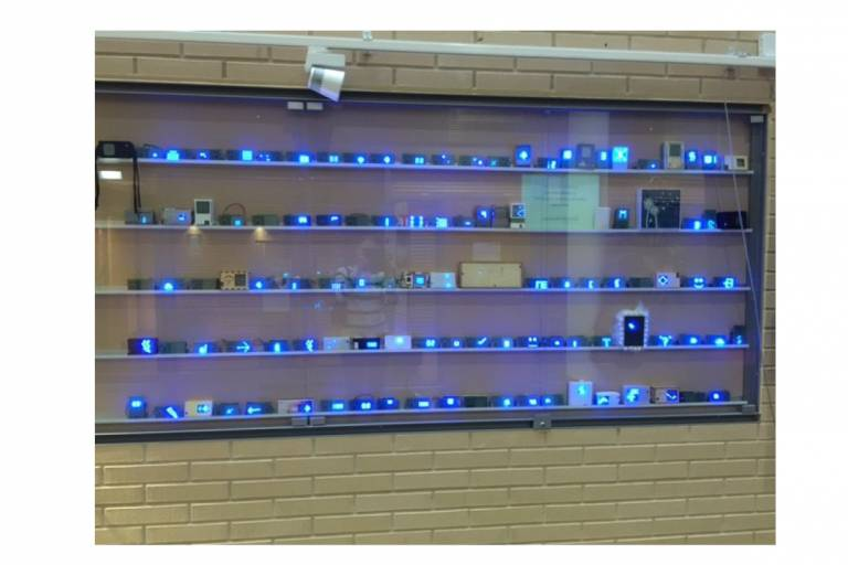 Photograph, of LED flashlights made during the course.