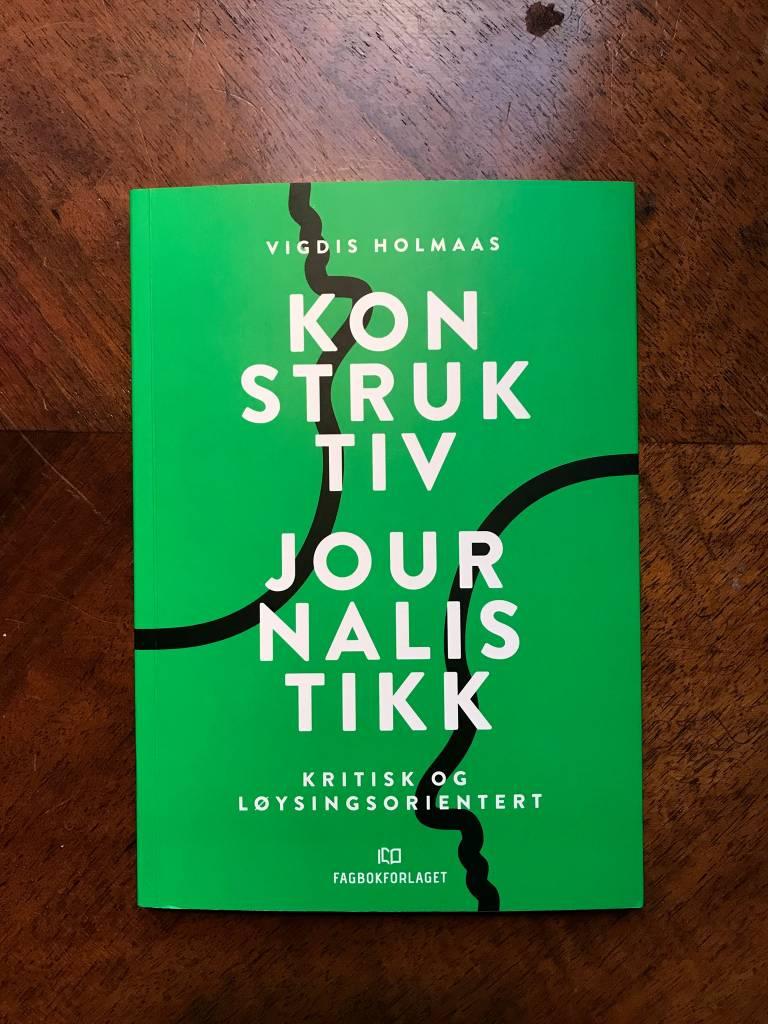 Book cover of Holmaas' Konstruktiv Journalistikk