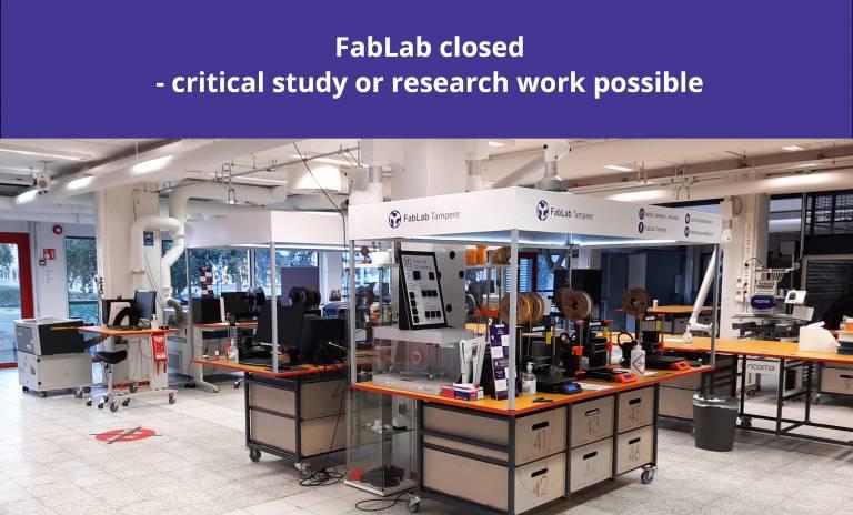 Illustrative image, illustration of FabLab's status.