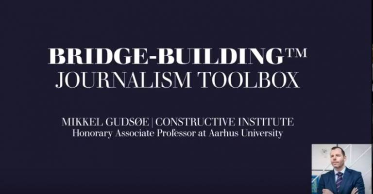 bride-building toolbox for journalists