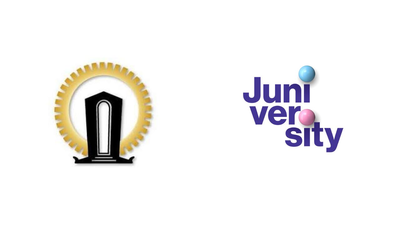 Tampereen Teknillisen Seuran ja Juniversityn logot