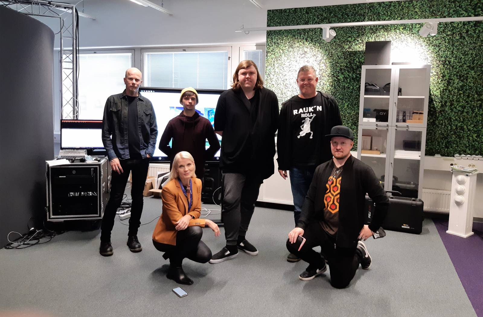 The Lab had international visitors from Finland, Estonia and United States